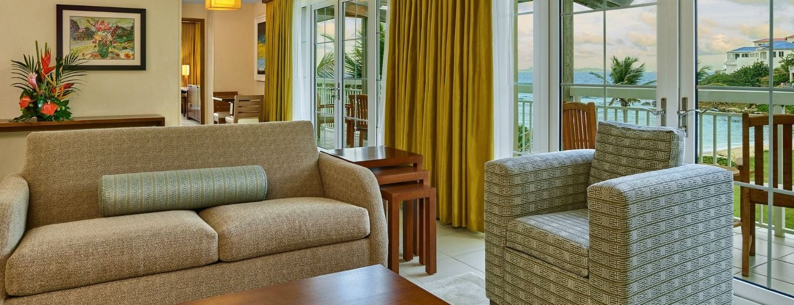 One-Bedroom Oceanfront Suite - The Westin Dawn Beach Resort & Spa